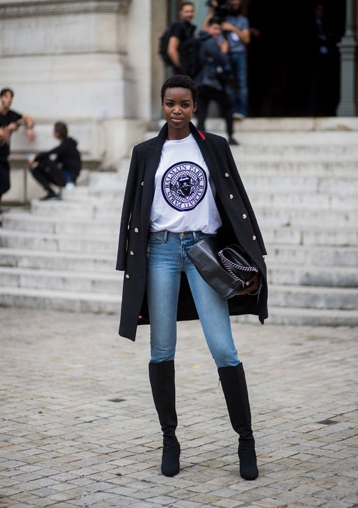 The Best Street Style At Paris Fashion Week Spring 2018