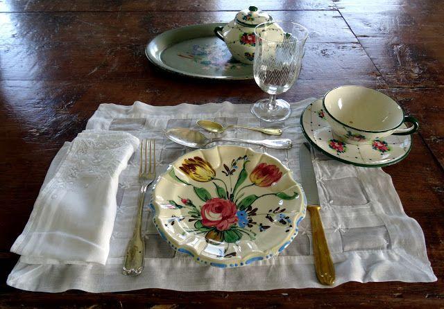 Breakfast table setting at B&B Cà Bianca dell'Abbadessa in San Lazzaro di Savena, Bologna, Italy
