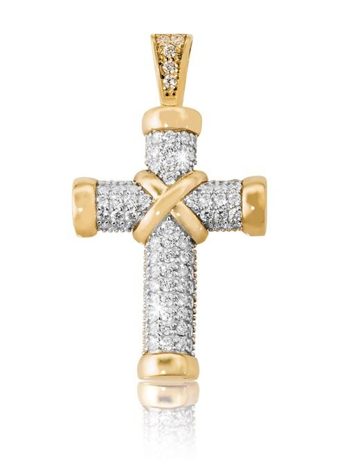 9ct Cubic Zirconia Cross R3,549  *Prices Valid Until 25 Dec 2013 #myNWJwishlist competition