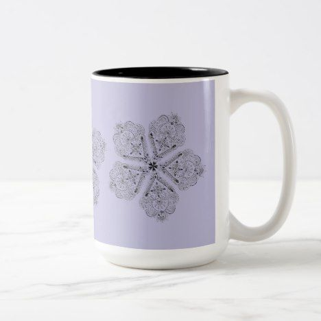 Artsy Boho Flower Custom Travel Mug #coffee #mug #mugs #muglove #coffeetime #coffeemug #gifts #style #tea