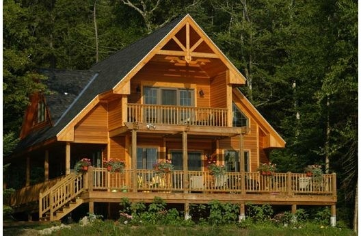 would be an awesome cottage up north!: Dream House Plans, Decks, Dream Homes, Cottages House Plans, Cottage House Plans, Bedrooms, Cabin Fever, Mountain House, Dreamhouse