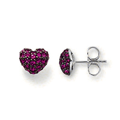 Thomas Sabo Diamond stud Apple earrings - Rose