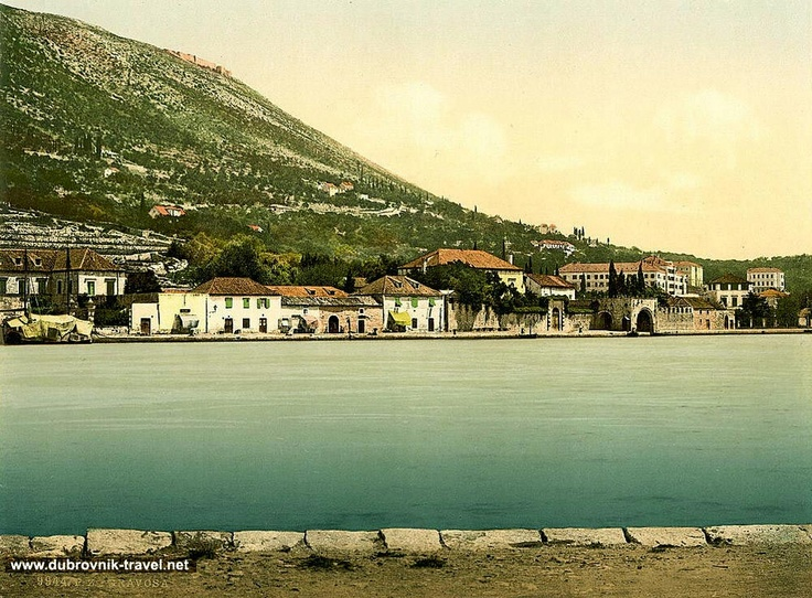 old Dubrovnik, when it was just a city , peaceful and quiet