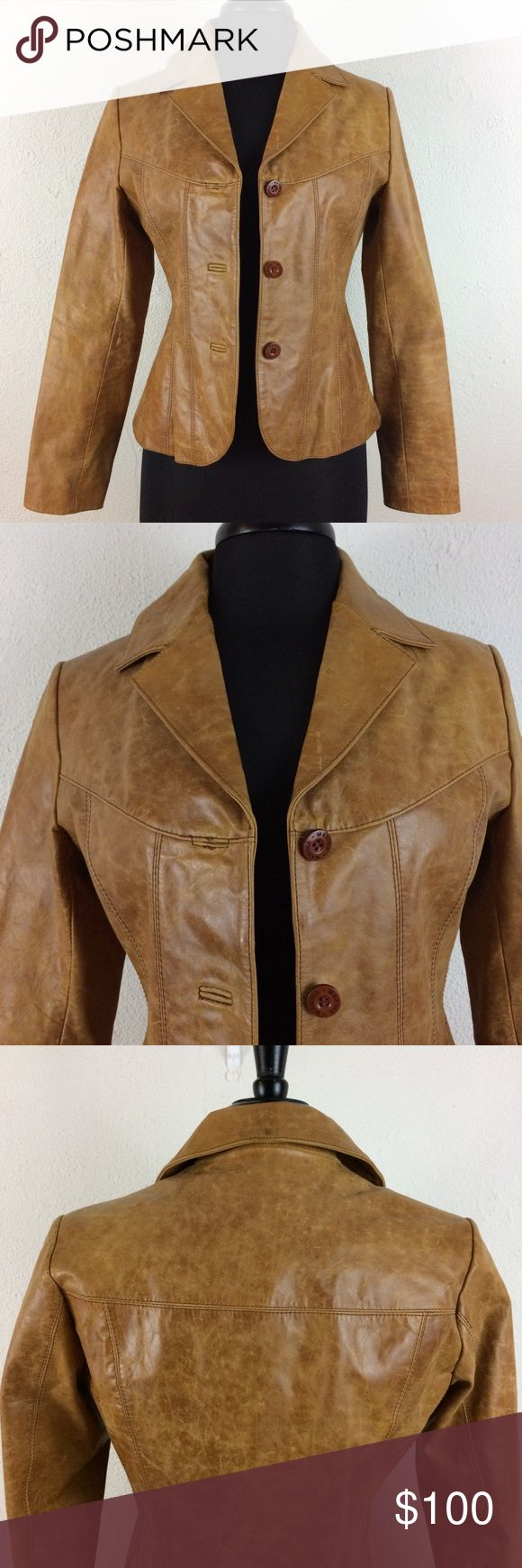 🔥SALE!🔥Wilson Leather LightWashed Leather Jacket SALE! $50 OFF Ends 1/31/18. High quality brand; paisley lining. Mint condition. Wilsons Leather Jackets & Coats