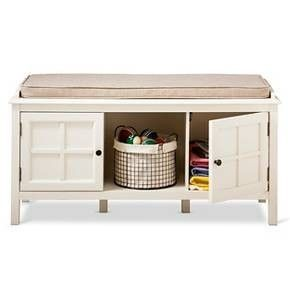 maybe this target storage bench could work for a window seat?