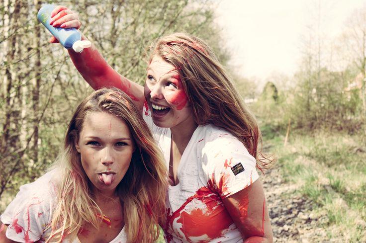 Paintsmash photoshoot www.rowiefotografie.nl #paint #smash #paintsmash #photography #funny #shoot