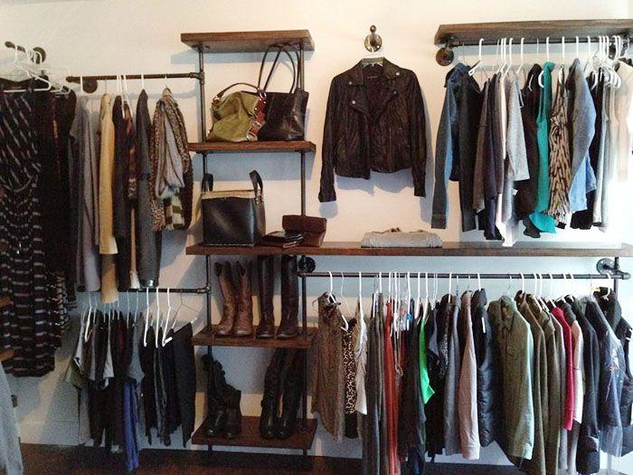 Best 25+ Pipe Closet Ideas On Pinterest | Industrial Closet Organizers,  Closet System And Industrial Closet