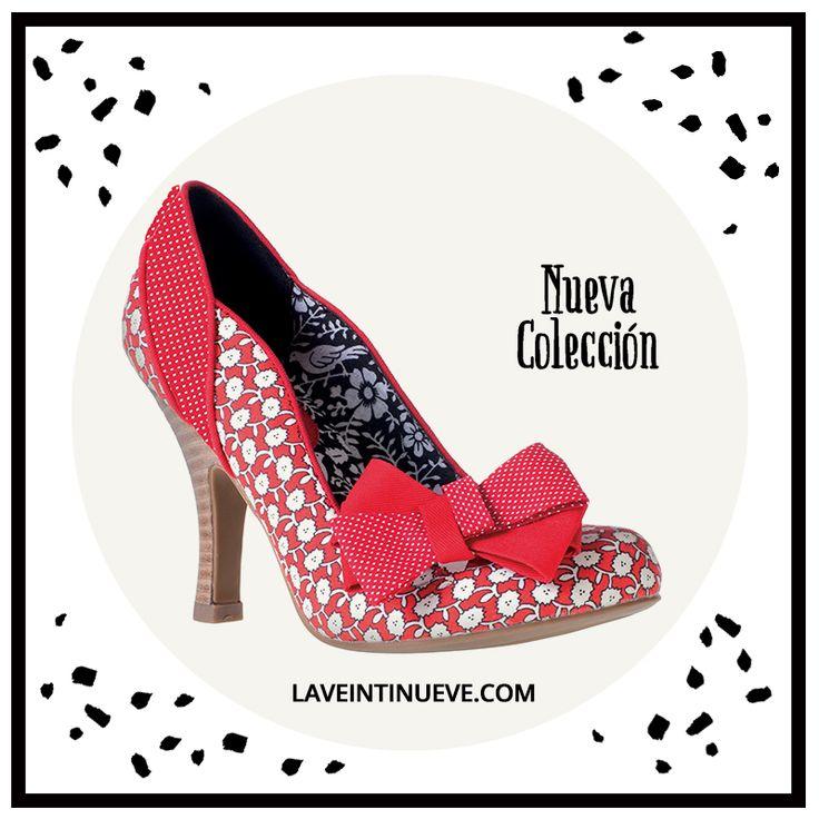 Red pumps #retro #heels #spain #laveintinueve #boutique #gotico