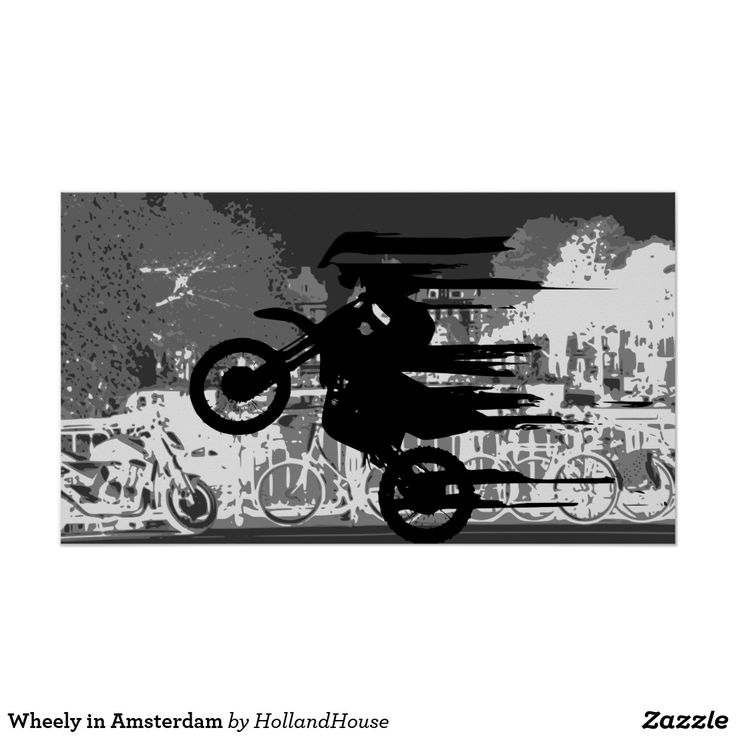 Wheely in Amsterdam Poster
