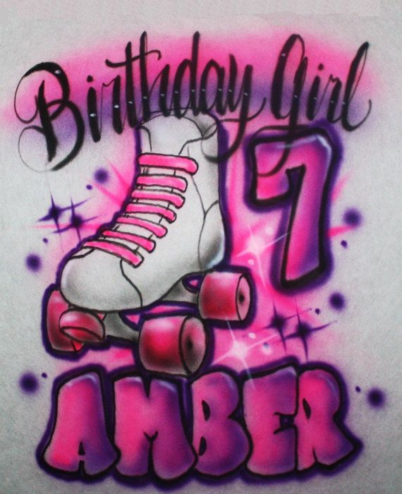 Personalized Girls Youth Adult or Toddler by EternalAirbrush