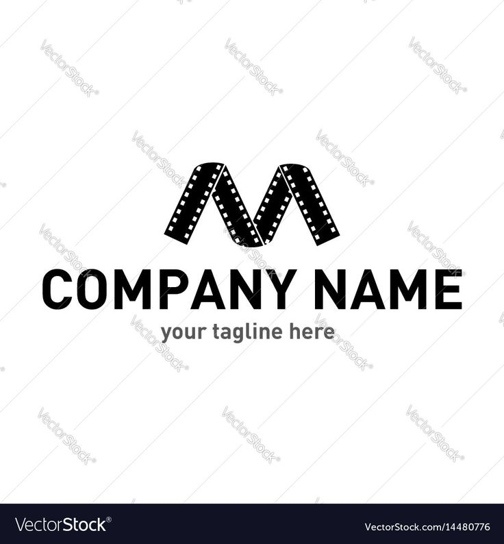 Vector image of M letter logo Vector Image, includes logo, icon, sign, film & letter. Illustrator (.ai), EPS, PDF and JPG image formats.