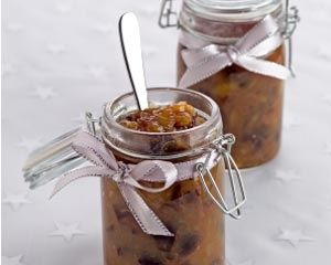 Nigella's Christmas chutney recipe. Packed full of festive spices, dried cranberries and apples, Nigella Lawson's chutney is the perfect accompaniment to a Christmas cheese board