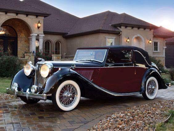 1948 Jaguar Drophead Coupe