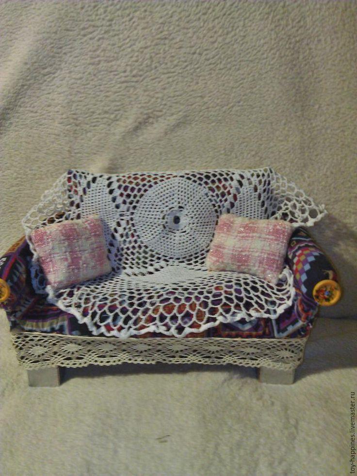 Простой способ изготовления кукольного диванчика для фотосессий - Ярмарка Мастеров - ручная работа, handmade
