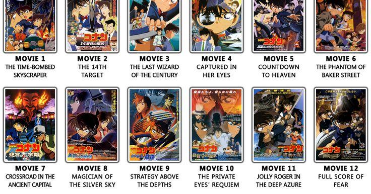 List Download Movie Detective Conan Lengkap Subtitle Indonesia