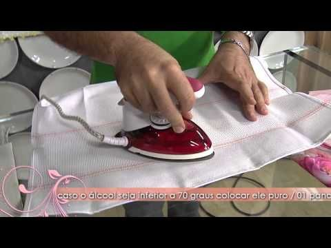 Aprenda a engomar feltro, fita de gorgurão ou cetim by Tatiana Karina - YouTube