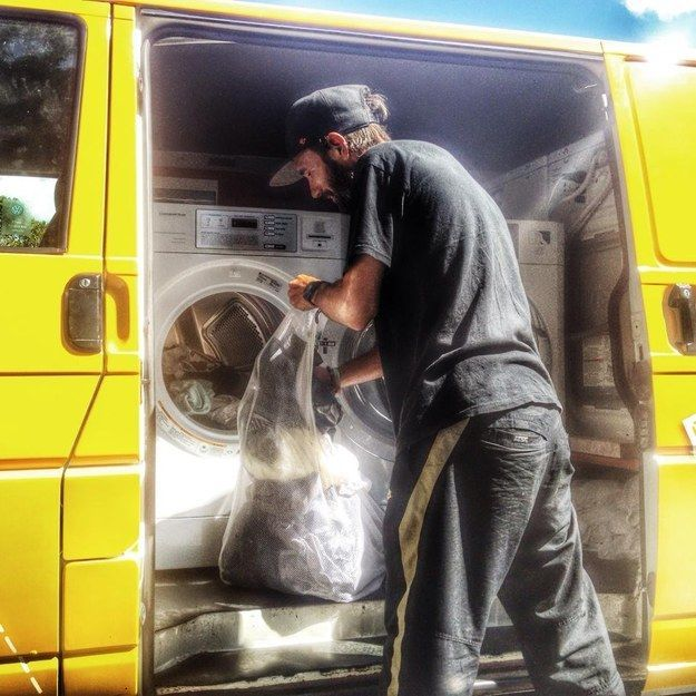 Mobile Charitable Laundry - A portable laundry service for the homeless... (VIDEO)