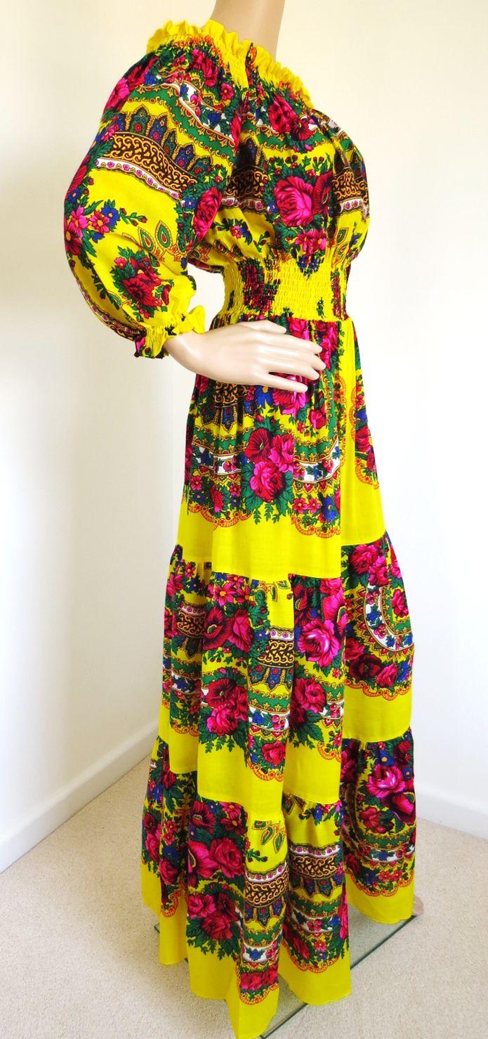 Ladies Maxi Shawl Dress Vaselisa stylishdiscoveries.com.au