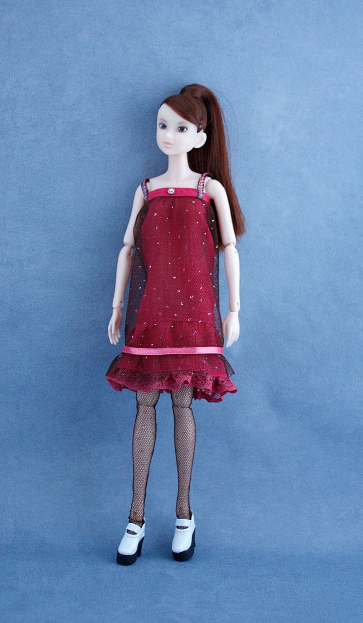 Uutta Etsy-kaupassani: Excited to share the latest addition to my #etsy shop: Outfit for 1/6 Momoko doll: Dress and socks. Free shipping! http://etsy.me/2iXXbmA  #momokodoll #momokooutfits #momokoclothes #dollclothing #dollfashion #momokodollclothes #momokobjd #momokodress