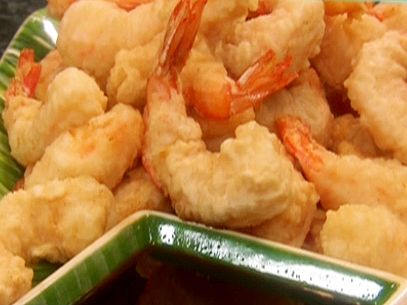 Food Network invites you to try this Crispy Tempura Battered Shrimp recipe from Paula Deen.