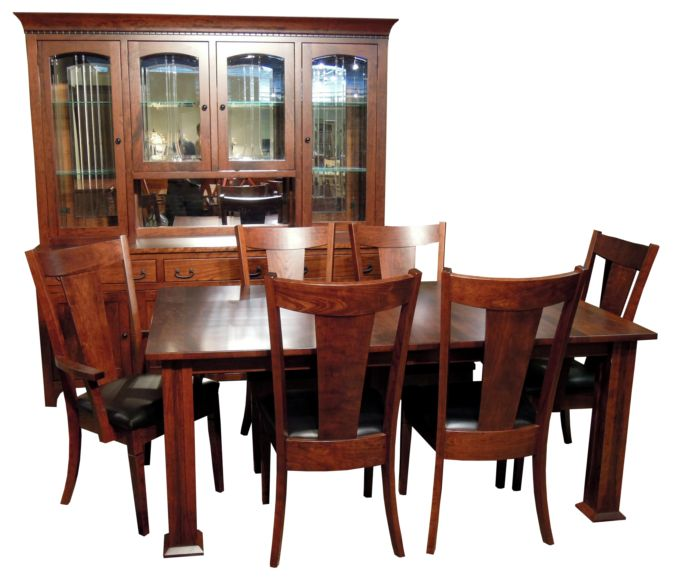 Amish made dining room sets high resolution photographs