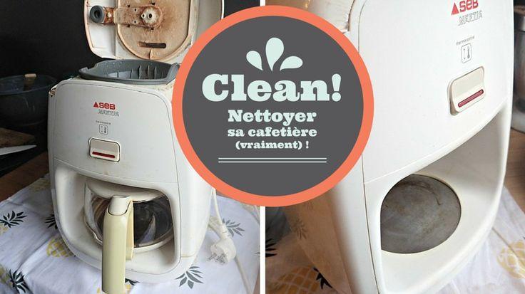73 best astuces de m nage images on pinterest nettoyant trucs et trucs et astuces - Nettoyer cafetiere vinaigre blanc ...