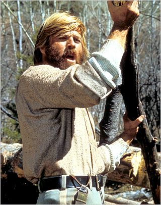 RUGGED REDFORD Robert Redford in Jeremiah Johnson