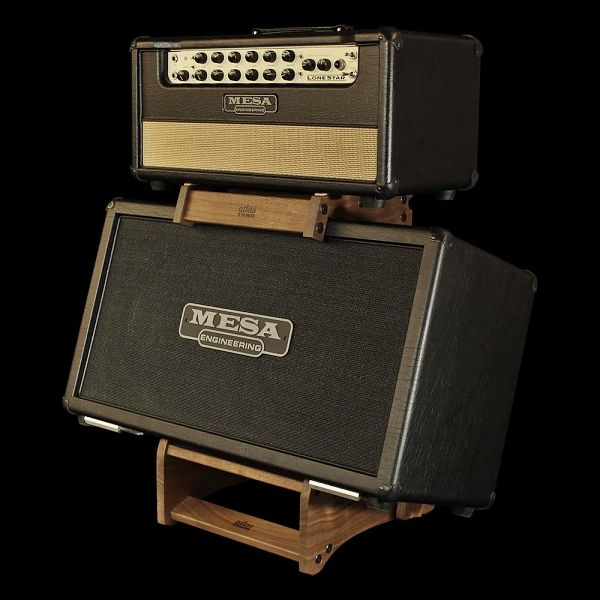 Elevate your tone with Atlas Standard Series Hardwood Amplifier Stands. Increase tonal definition and frequency response by lifting and tilting your amp.
