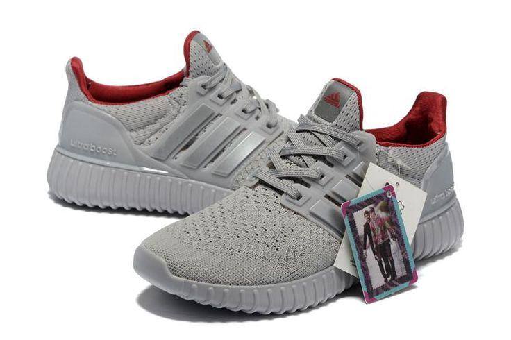 Adidas Ultra Boost Mænd Grå Rød