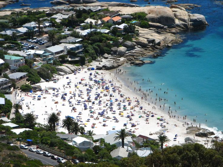Clifton Beach in Cape Town...roll on summer