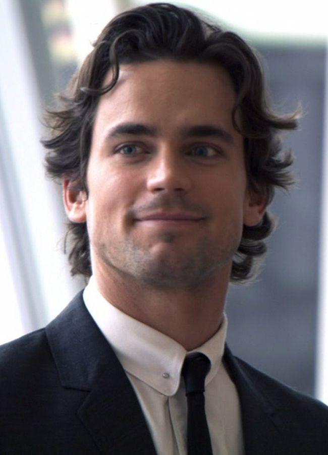 270 best men medium hair images on pinterest cute guys - Neal caffrey hair ...