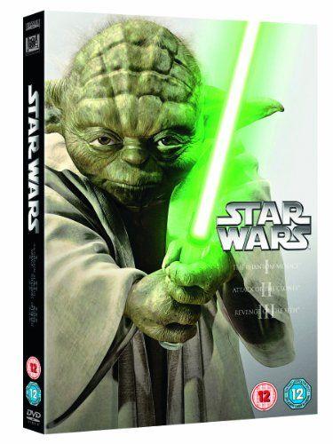 Star Wars: The Prequel Trilogy Episodes I-III DVD 1999: Amazon.co.uk: Ewan McGregor, Hayden Christensen, Natalie Portman, Liam Neeson, Ian M...