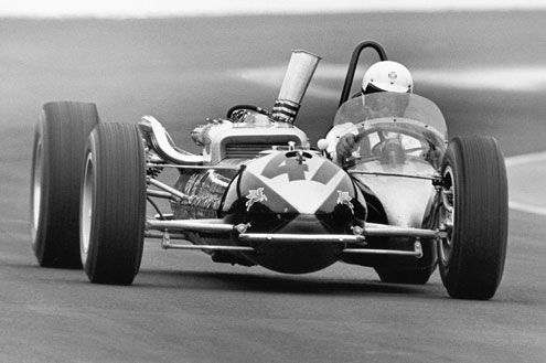 pinterest.com/fra411 #vintage - A Hurst Floor Shift Special for the Indy 500 1964. Weird and wonderful.