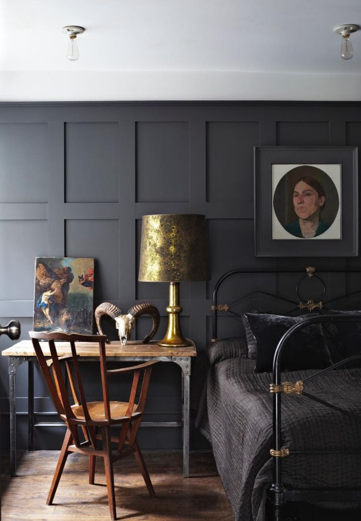10 Beautiful Rooms - Mad About The House: railings by farrow and ball