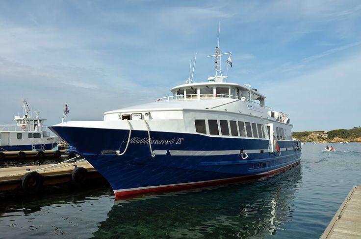 Les dessertes TLV-TVM - Réseau Mistral : bus et bateaux-bus de Toulon Provence Méditerranée