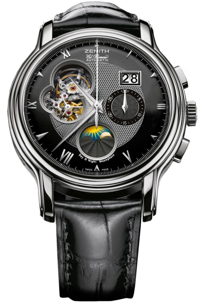 Zenith Chronomaster watch. Wish I could afford a nice Zenith!