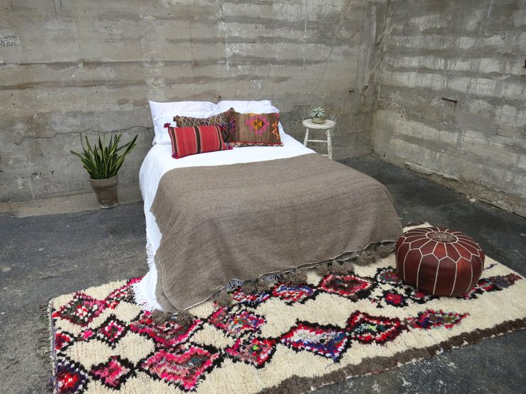 'DR. GREY' BERBER WOOL BLANKET | Maven Collection