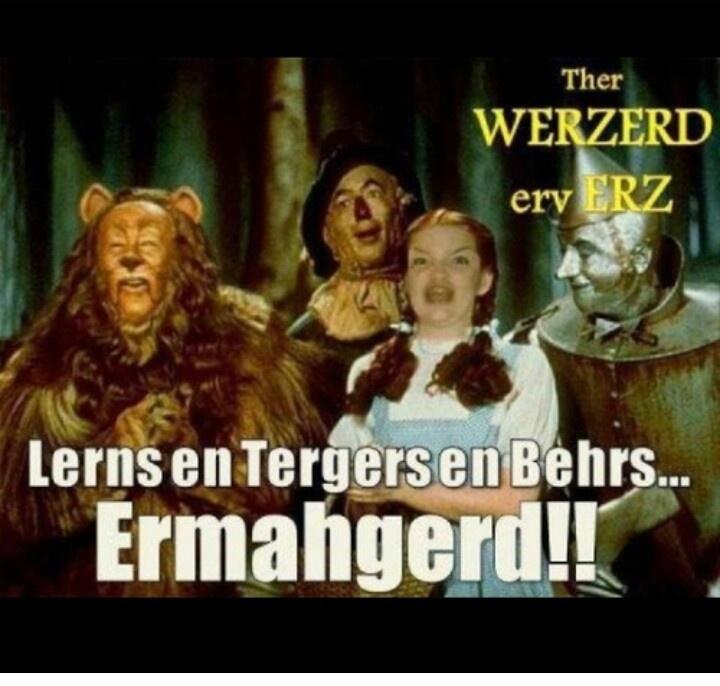 Ermahgerd!!!! Erz!!: Classic Movie, Wizardofoz, Favorite Things, Tins Man, Birthday Parties, Wizards Of Oz, Wizard Of Oz, Favorite Movie, Yellow Brick Roads