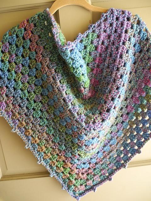 Ravelry: dani0010s Half Granny Shawl crochet ...