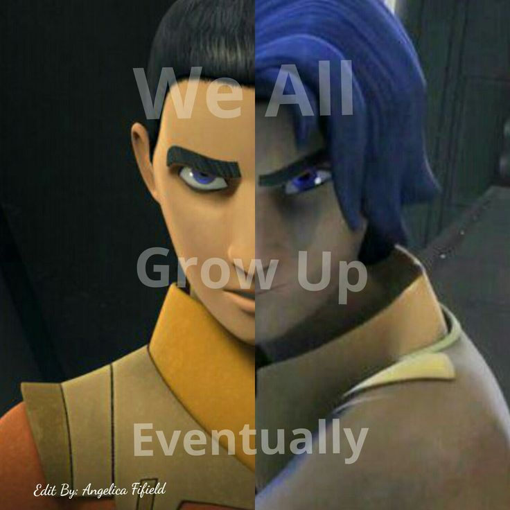 Star Wars Star Wars Rebels Ezra.   Ezra has changed so much sense season one. He's definitely grown up and matured over the course of the show.