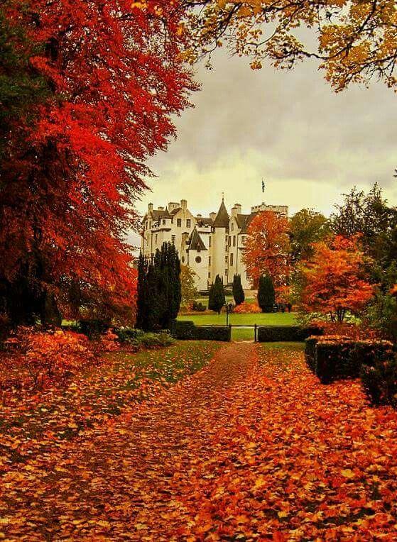 Blair Castle, Scotland                                                                                                                                                                                 More