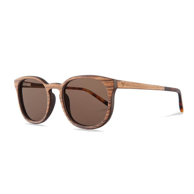 Holzbrille Alfons Rosewood/Light Havanna seite