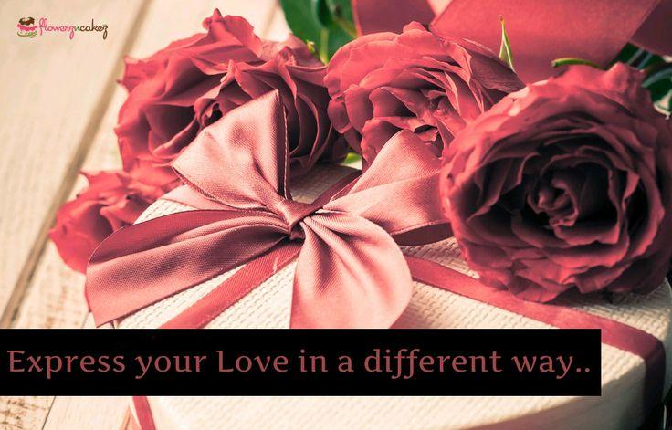 Express your #Love in a different way...  http://www.flowerzncakez.com/