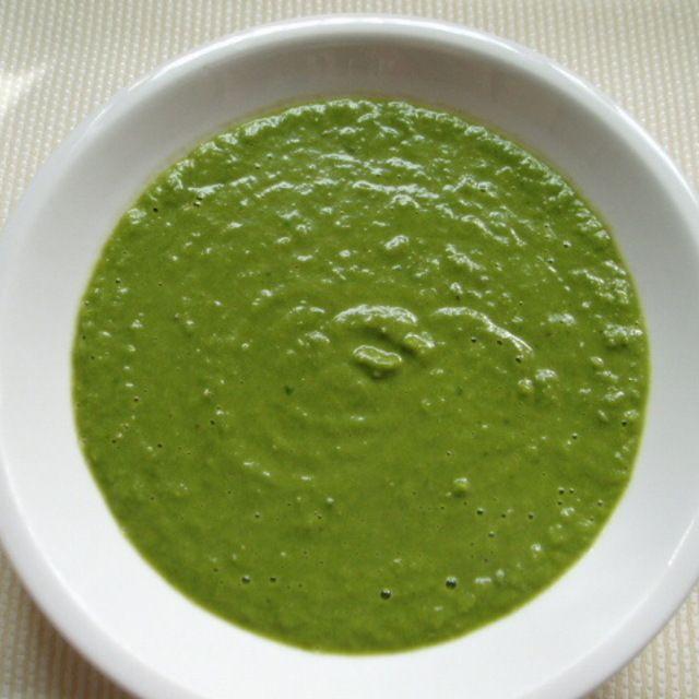 レタスとグリーンピースのスープ【Lettuce and Pea Soup】 | レシピブログ