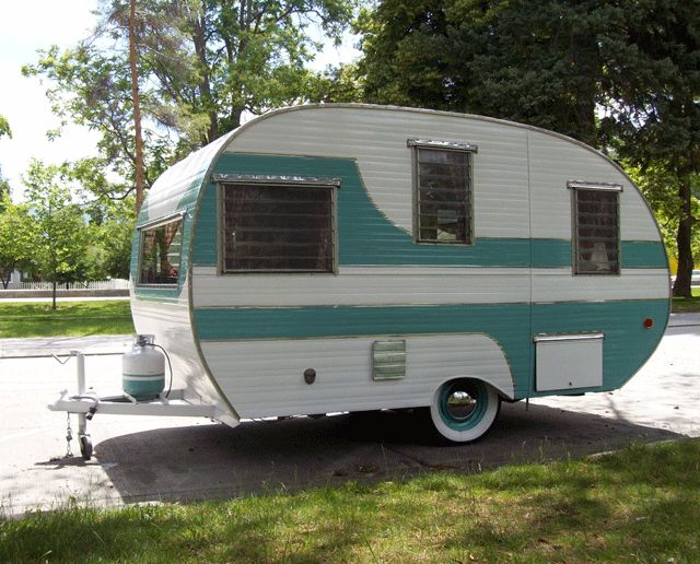 old teardrop trailers welcome vintage travel trailers for sale and restoration repair - Small Camper Trailer