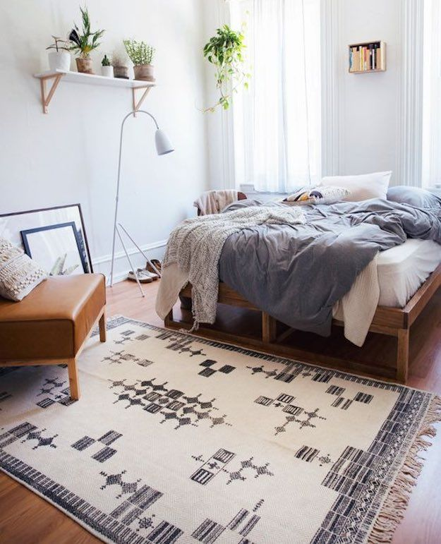 A Rug | Dorm Room Checklist: Essential Items For Your College Room