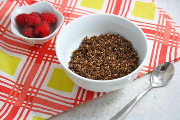 Low Carb Granola Two Ways- Paleo, low carb, and only 50 calories a serving!
