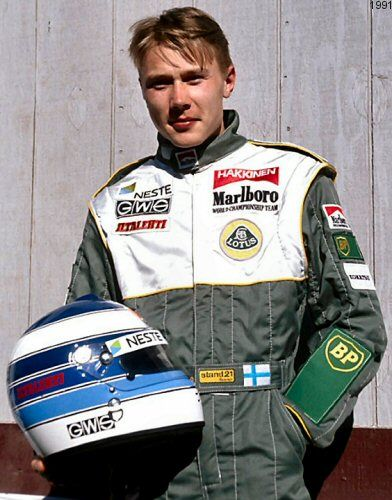 Image result for mika hakkinen 1991