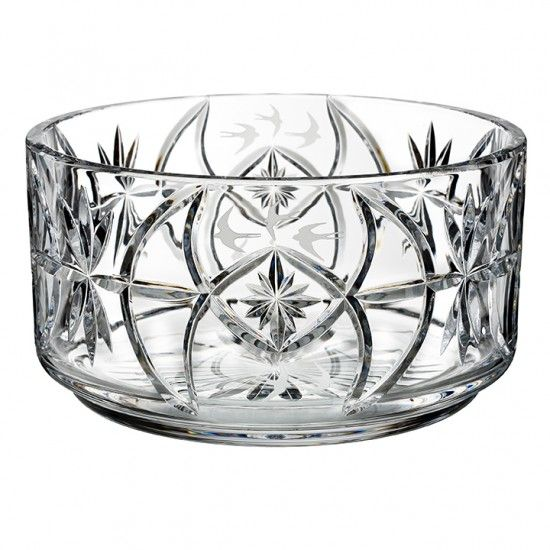 Tom Cooke S 10in Swallow Bowl Waterford Crystal Crystal Bowls Bowl
