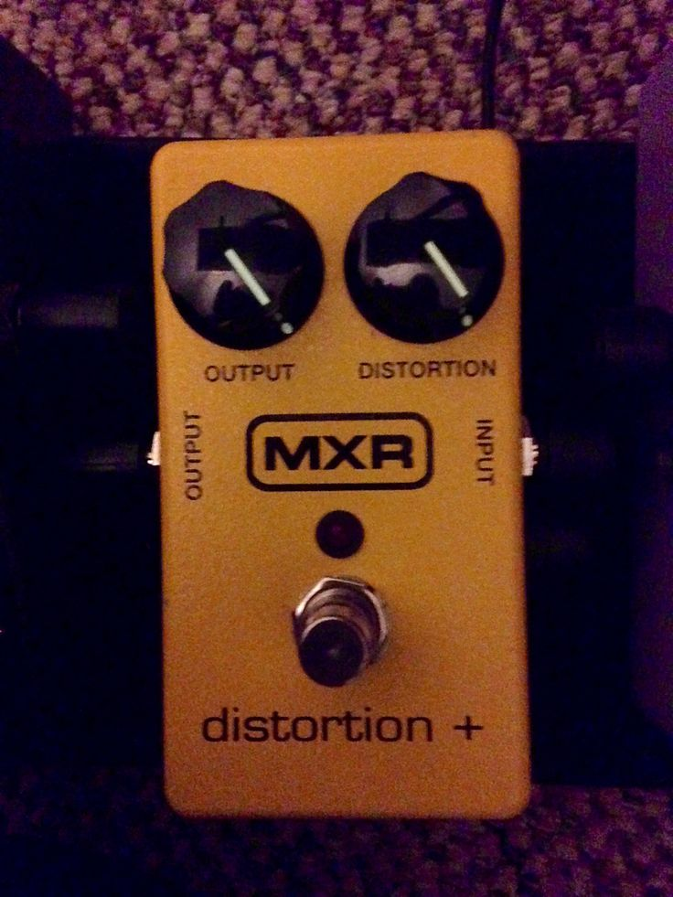 NPD - MXR Distortion Plus - New version